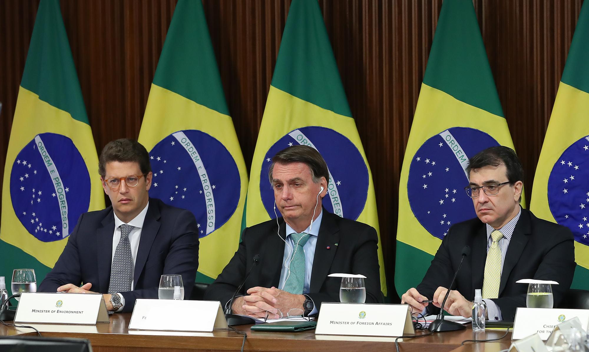 Desmatamento ilegal zero, mais uma distorção do Bolsonaro