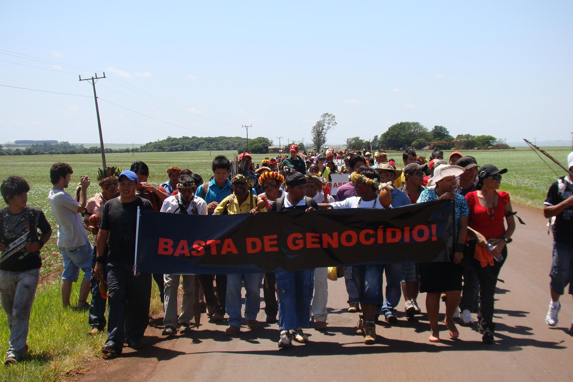 Guarani-Kaiowá revela como foi espancado por jagunços