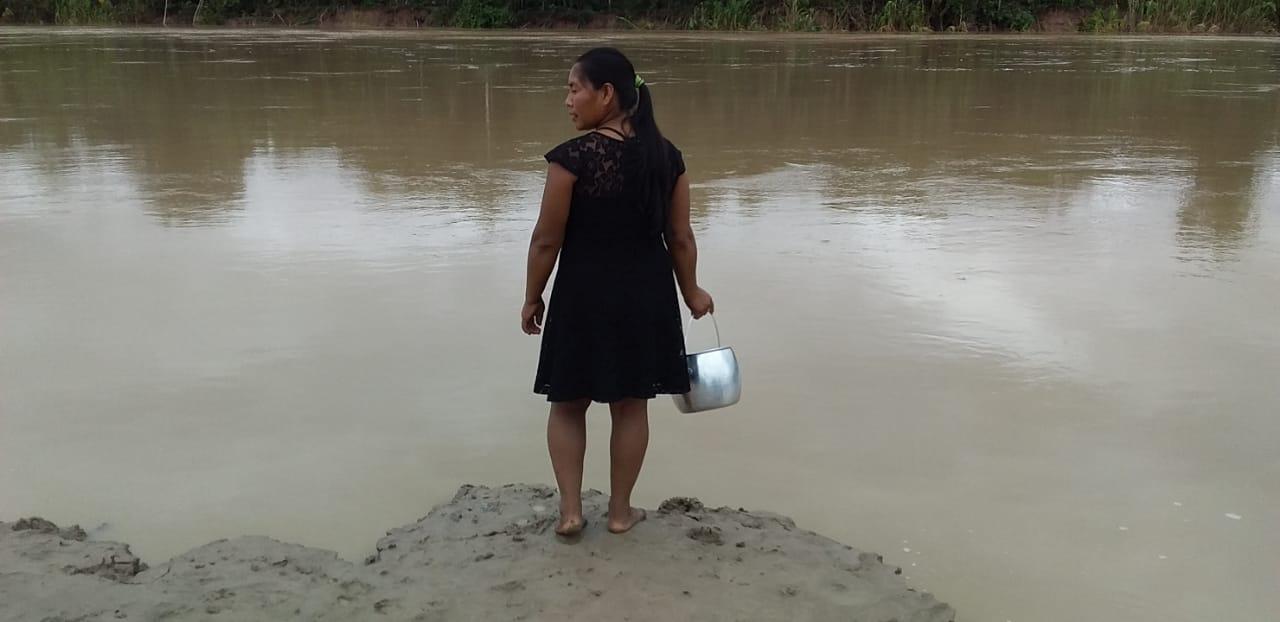 Cheia e Covid-19 colocam em risco segurança alimentar de aldeias do Acre