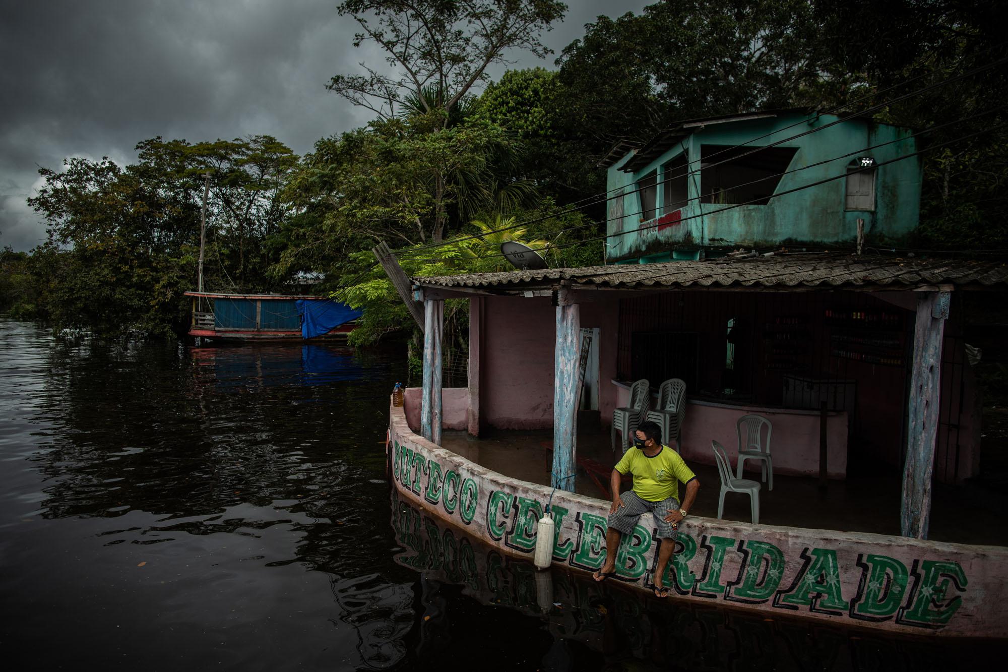 Milhares já sofrem com a cheia no Amazonas