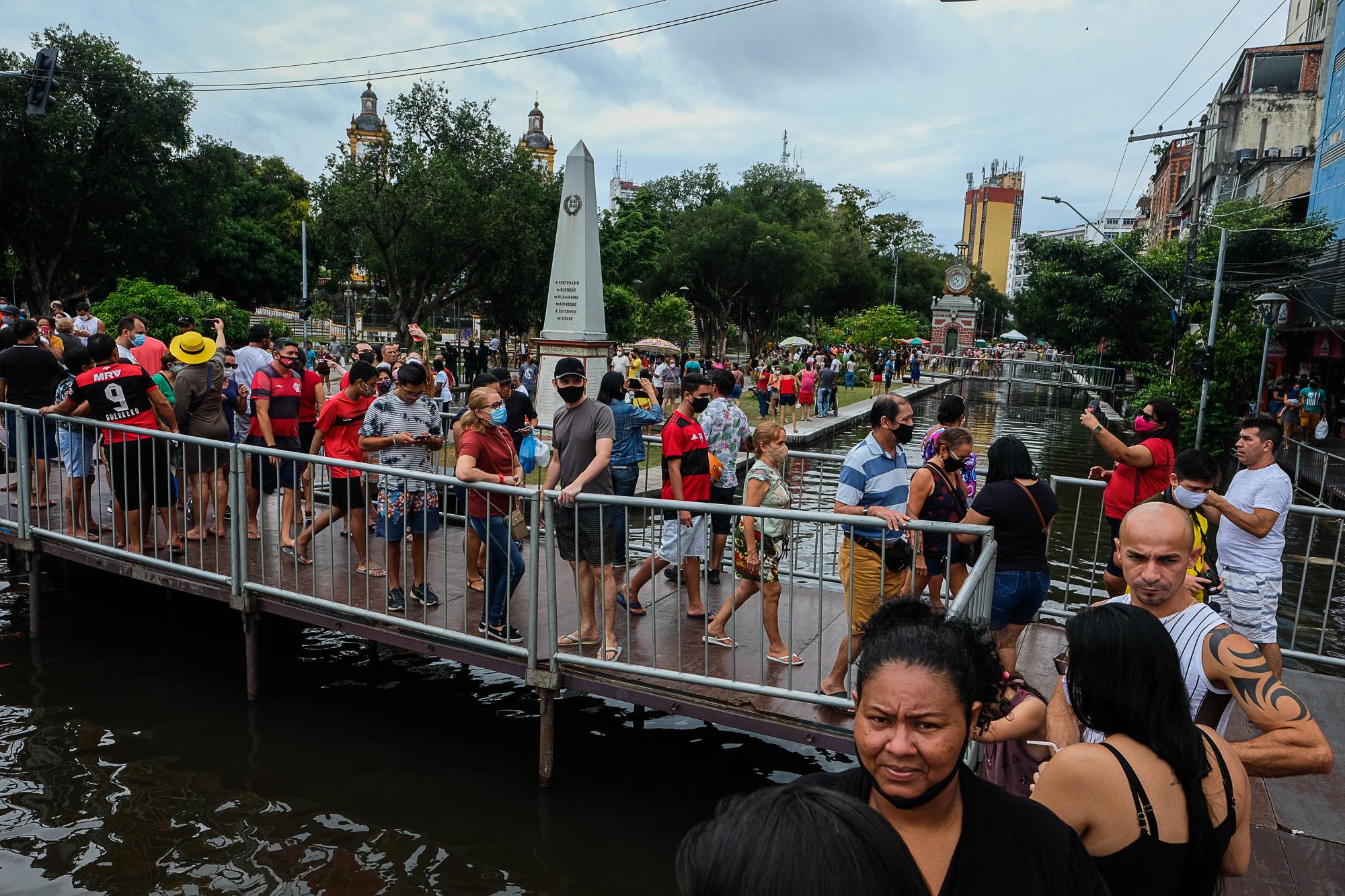 As lições dos eventos climáticos extremos de 2021 no Brasil: 1- A enchente na Amazônia