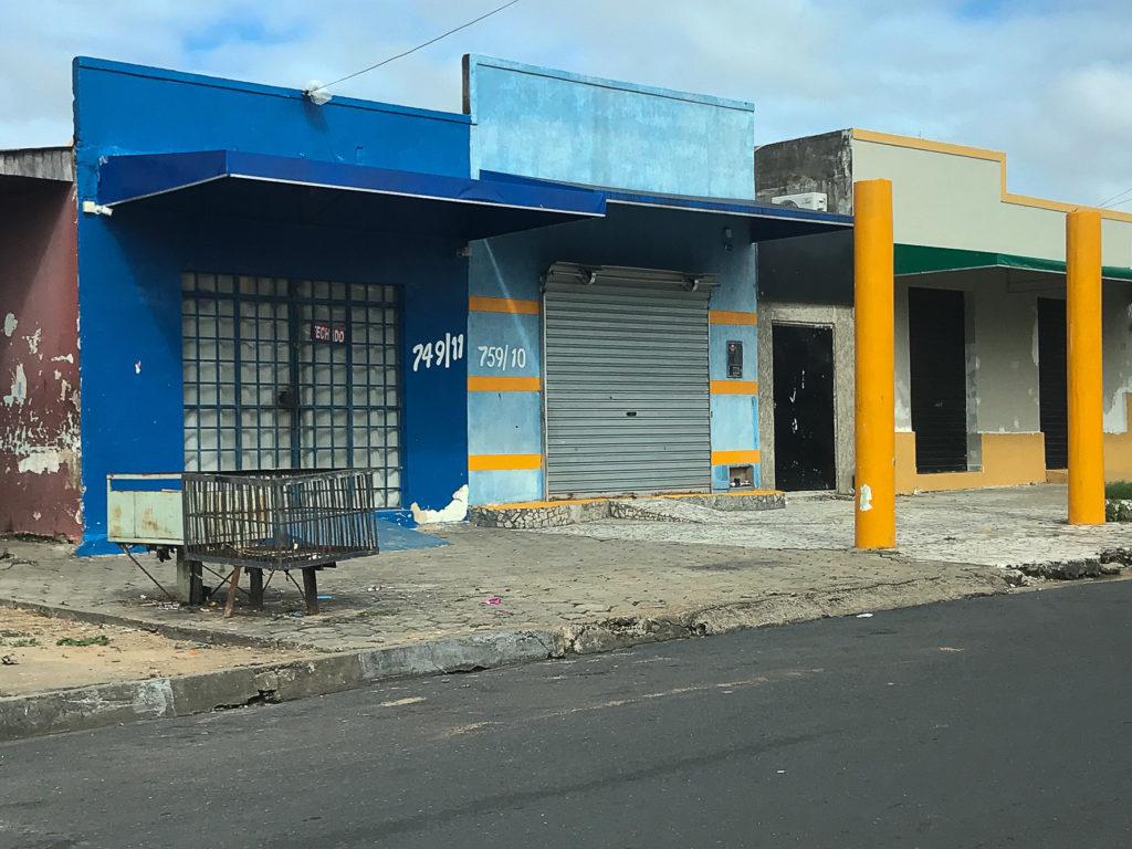 Fachada da loja 759 na Rua do Ouro que é investigada pela PF por compra de ouro de garimpo ilegal (Foto: Bruno Kelly/Amazônia Real)