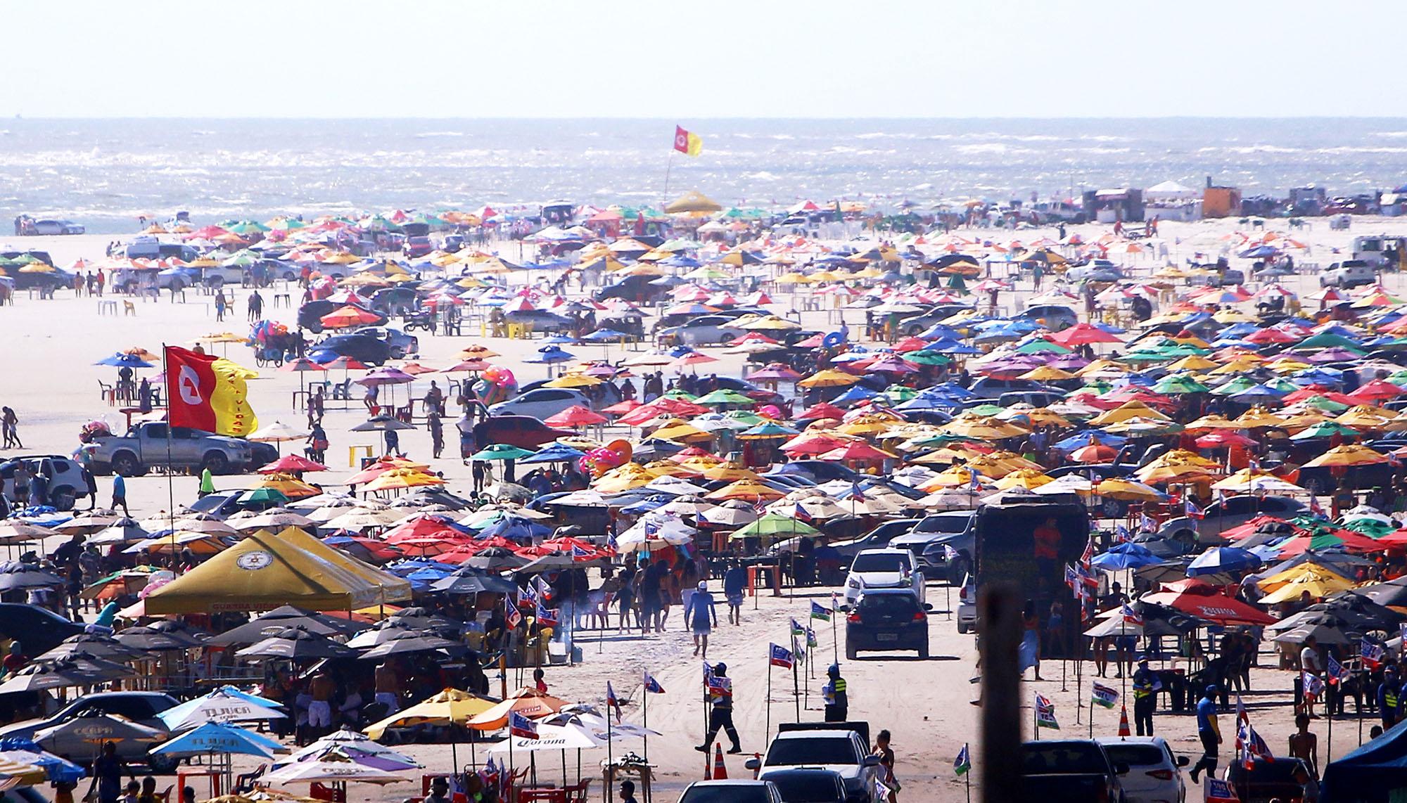 Férias nas praias paraenses denunciam falsa normalidade