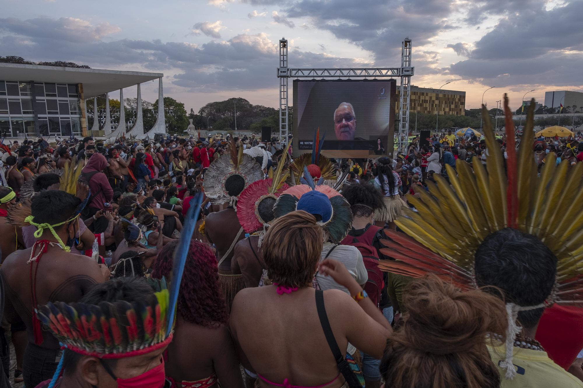 STF suspende o julgamento do marco temporal e indígenas prometem continuar mobilização