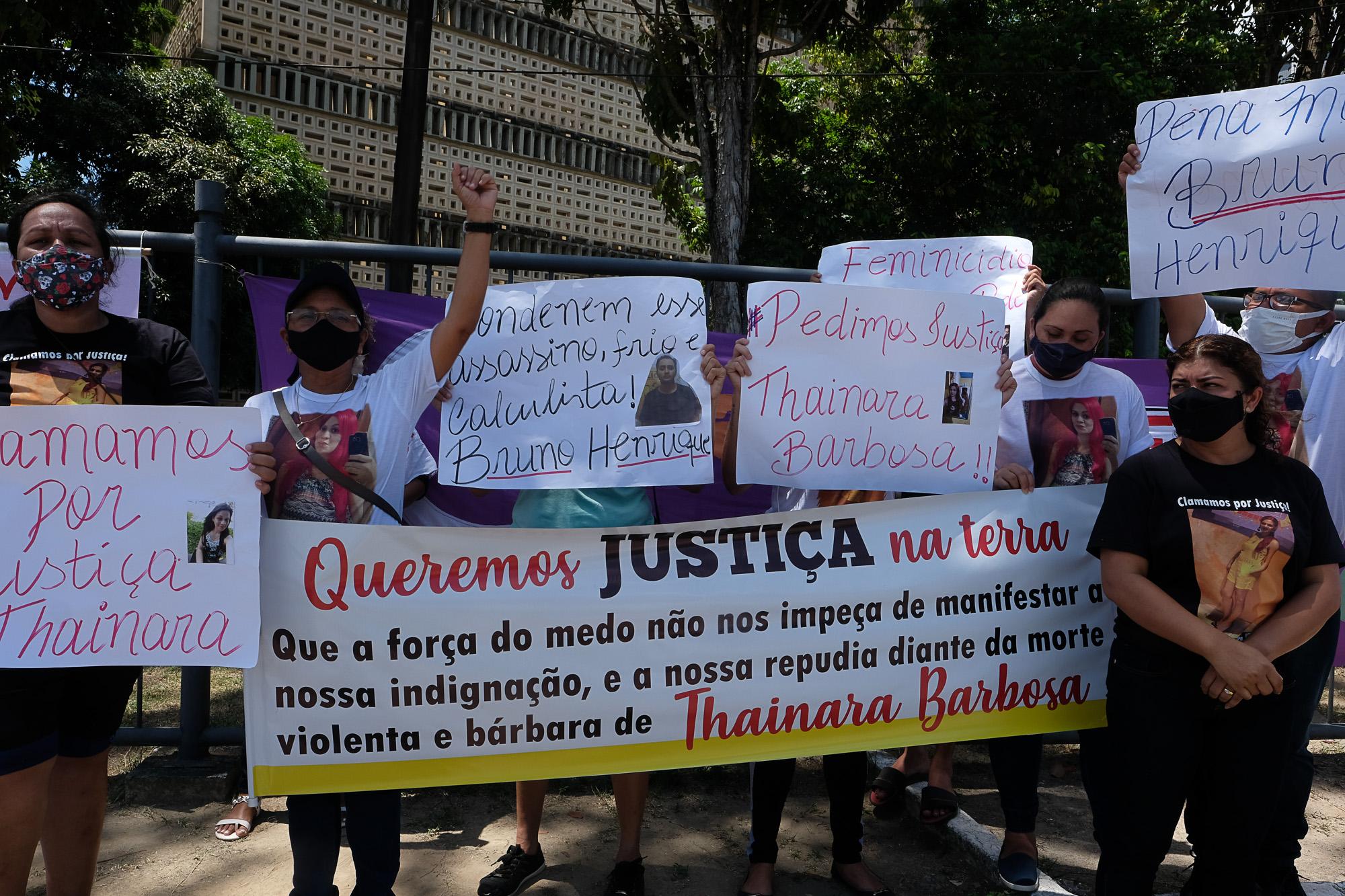 TJ-AM condena marido a 18 anos de prisão pelo feminicídio de Thainara Barbosa