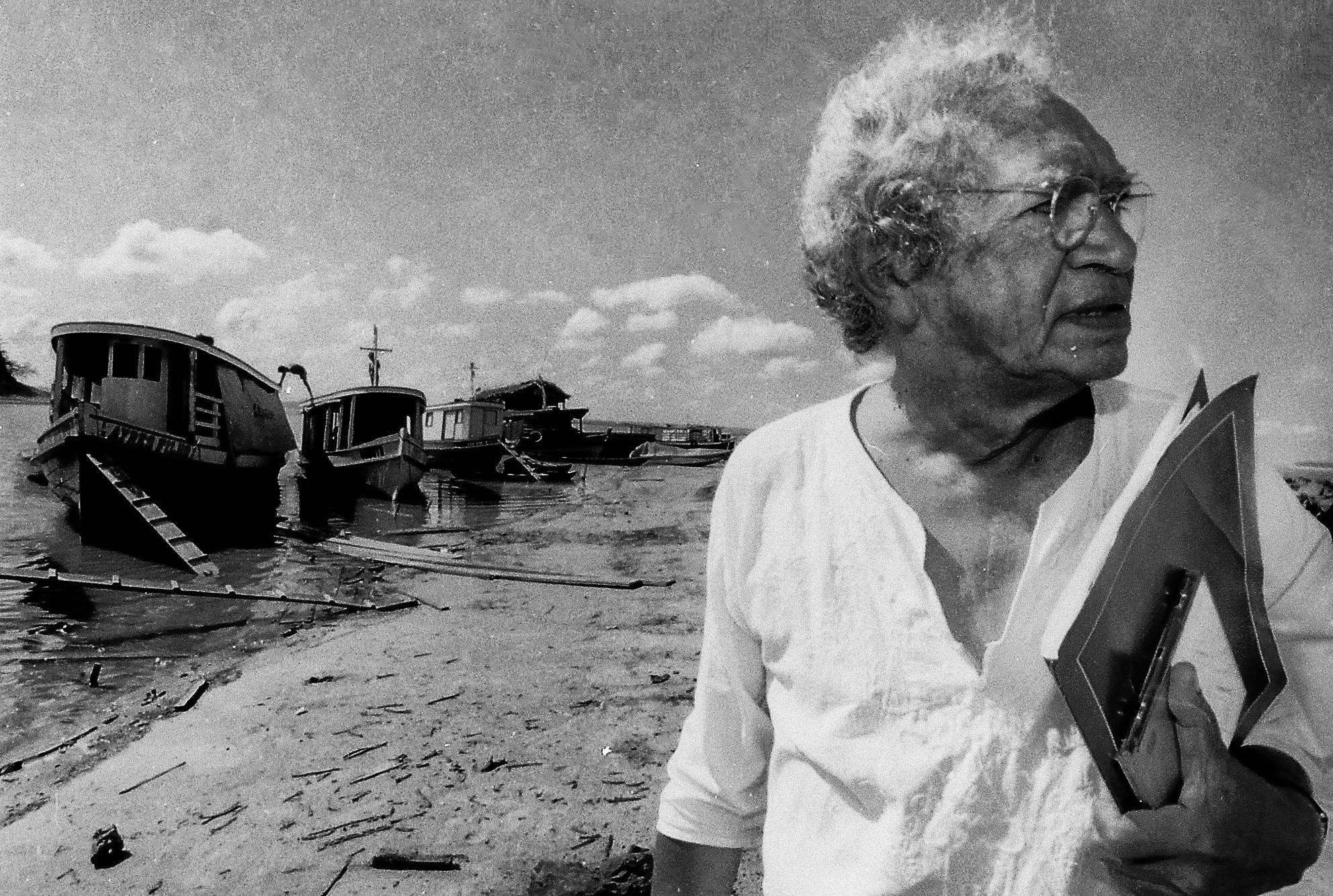 Memórias do poeta Thiago de Mello numa viagem a Manaus de antigamente