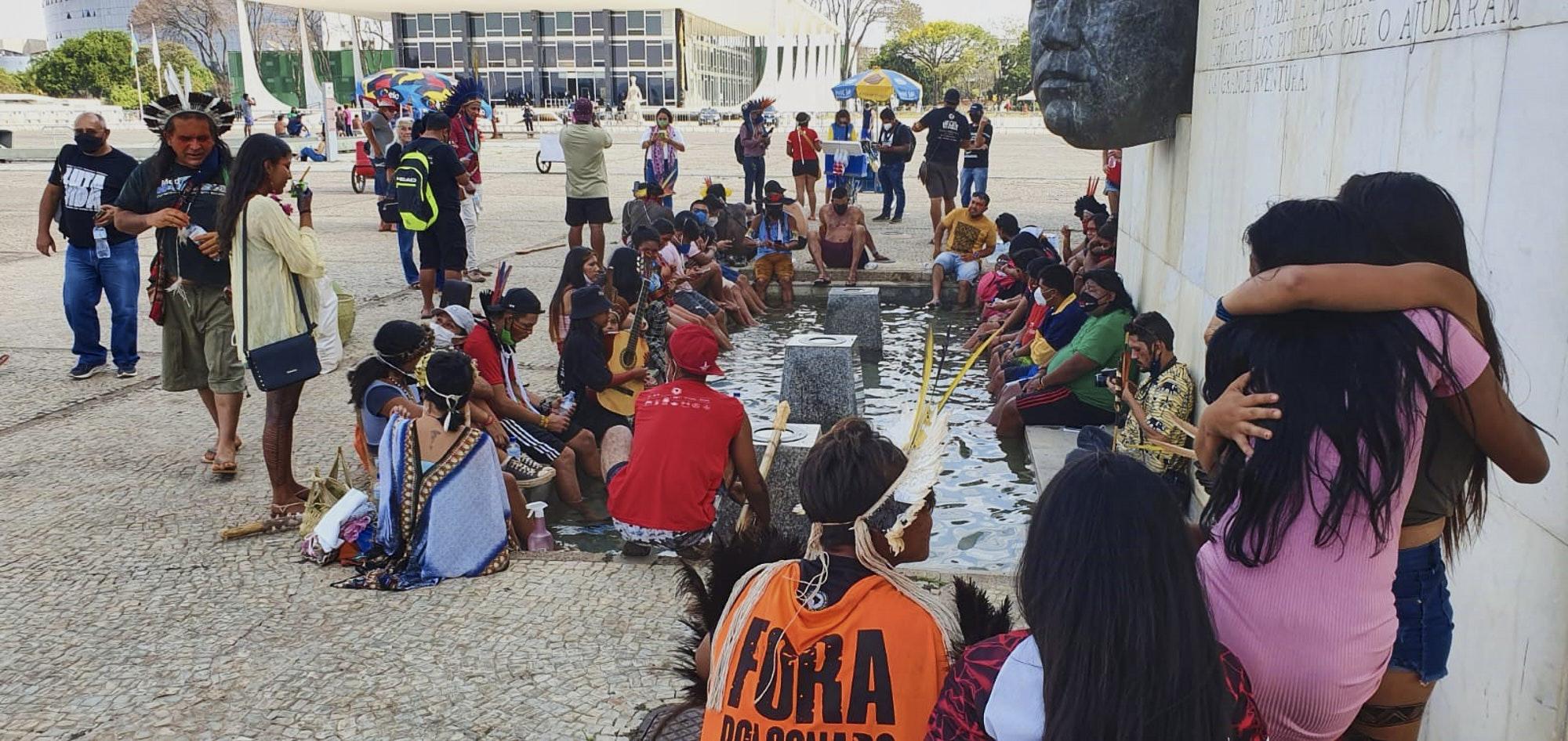 Em voto anti-indígena, Nunes Marques defende ruralistas