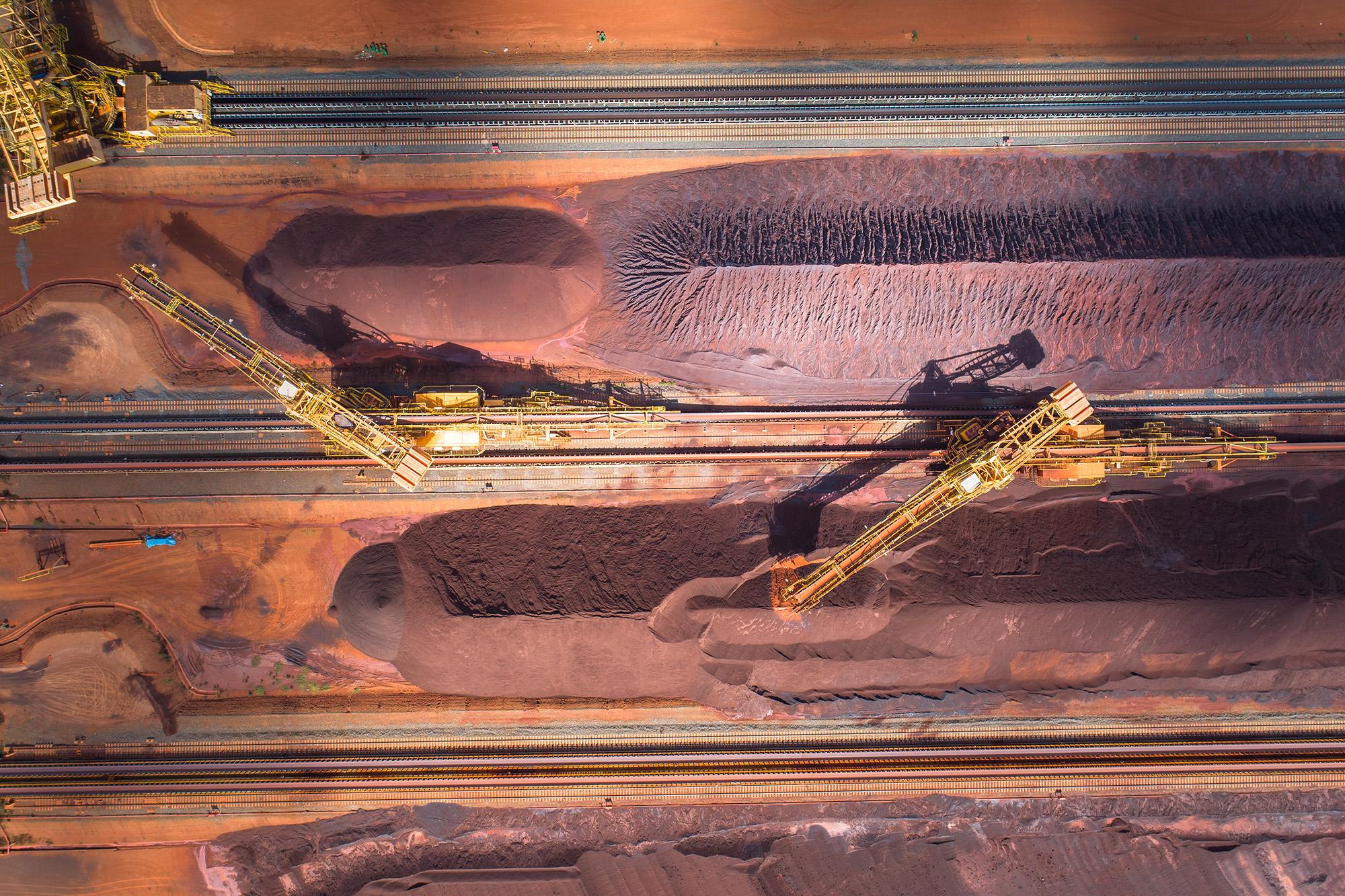 O perigo do minério